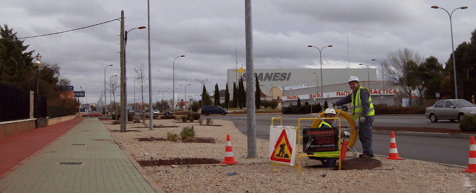 Red de Fibra Óptica de Ibersontel en Albacete