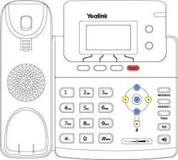 Como hacer un desvío de llamada con Yealink T21P