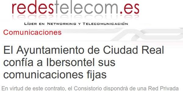 redestelecom - Ayuntamiento de Ciudad Real
