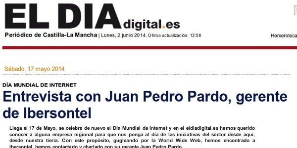 Entrevista con Juan Pedro Pardo, gerente de Ibersontel