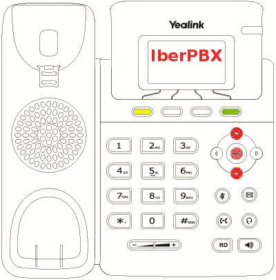 Como cambiar el idioma en el teléfono Yealink T19P