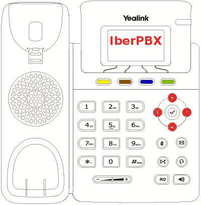 Cómo gestionar los contactos con el teléfono Yealink T19P y Centralita Virtual IberPBX