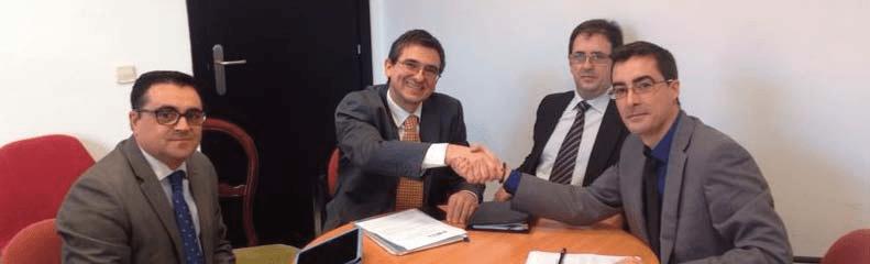 Firma del Convenio con la Asociación AFES