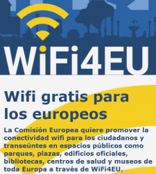 Bono Wifi4eu. Wifi para los Europeos